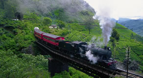 Sri Lanka Tour by train
