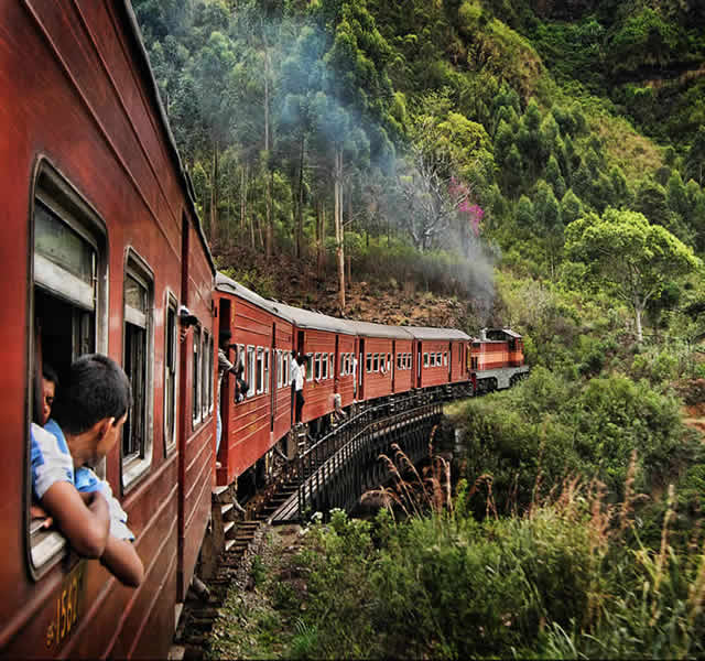 senic Sri Lanka Train Tour